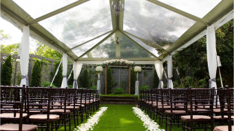 West Lawn Ceremony Tented